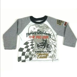 Harley Davidson Boy Toddler Embroidered Sweatshirt